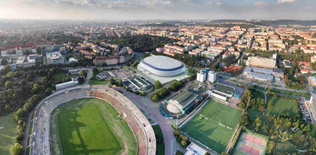 Brno zvažuje výměnu devíti bytových domů v centru za pozemky pro nový stadion