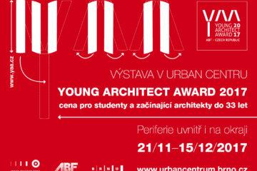 Výstava mladých architektů Young architect award 2017 v Brně