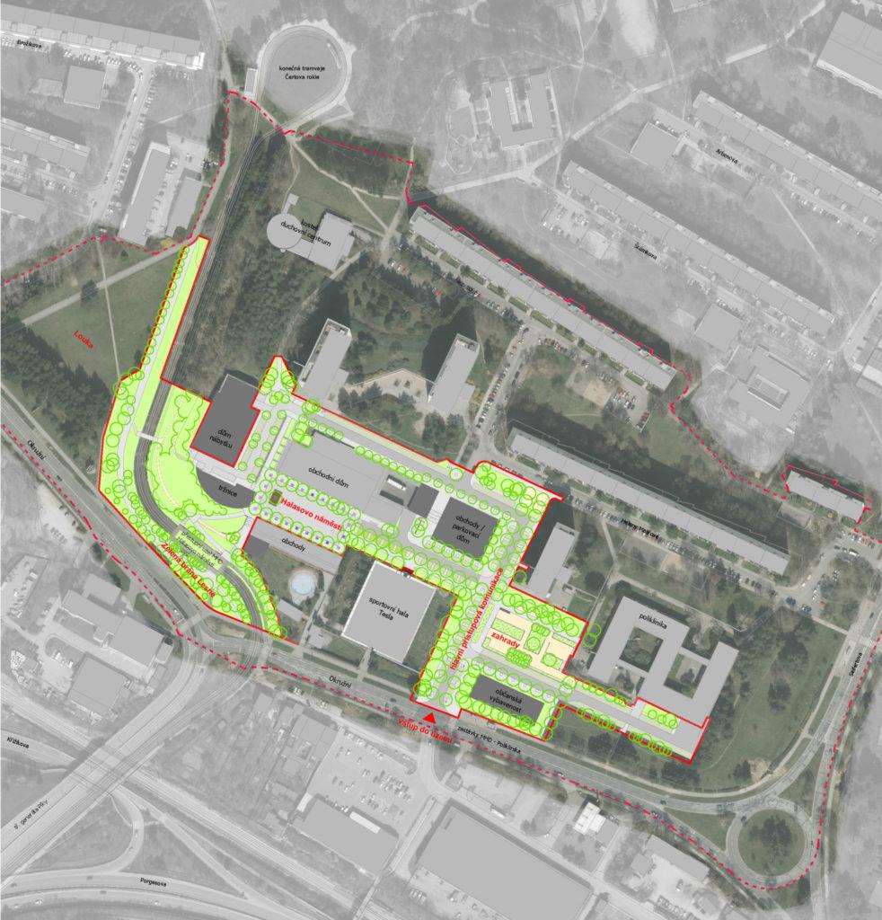 Urbanistické řešení