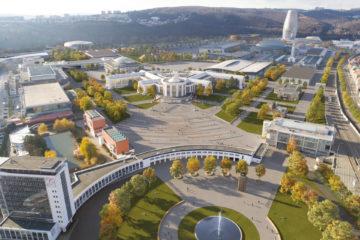 Architekti se odvázali, brněnské výstaviště se změní podle čtyř návrhů