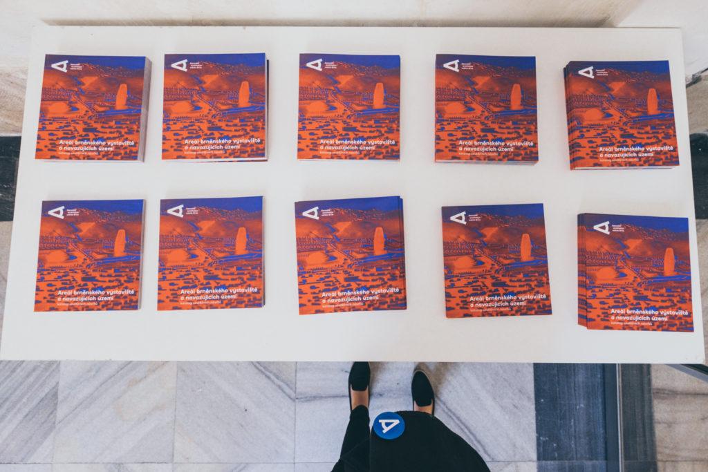 Katalog soutěžních návrhů Areál brněnského výstaviště a navazujících území