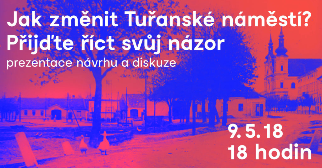 Přijďte diskutovat o podobě Tuřanského náměstí