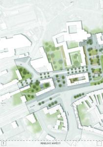 Mendlovo náměstí - P. P. Architects s.r.o.