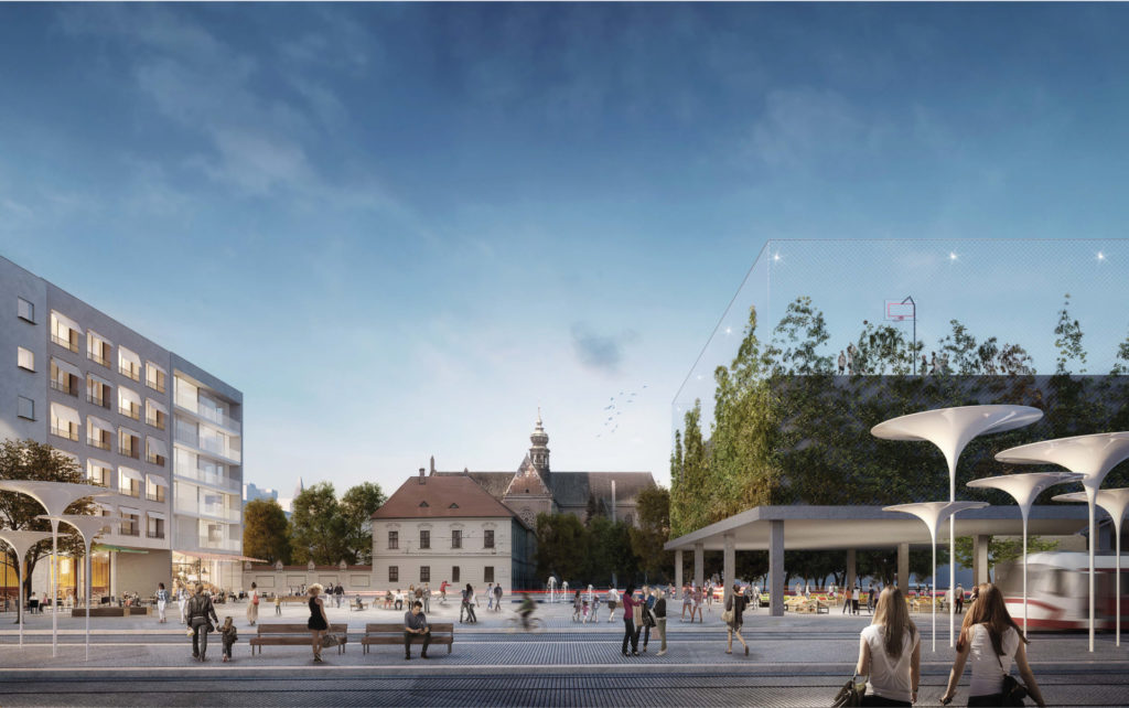 Mendlovo náměstí změní tvář, město vyhlásilo výsledky ideové soutěže