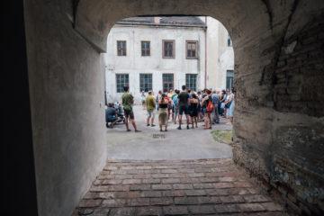 Procházka s městským architektem káznicí 9/6/2018