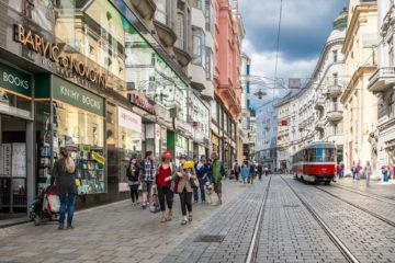 Průzkum staveb v Brně