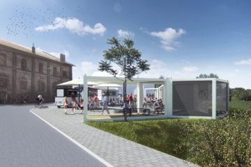 Brno vybuduje u dolního nádraží čekárnu za 3 miliony Kč