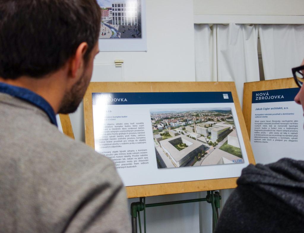 Výstava Nová Zbrojovka pokračuje. Jedenáct návrhů představí centrum nové čtvrti