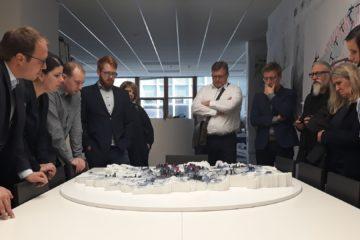 Návštěva Institutu plánování a rozvoje hlavního města Prahy