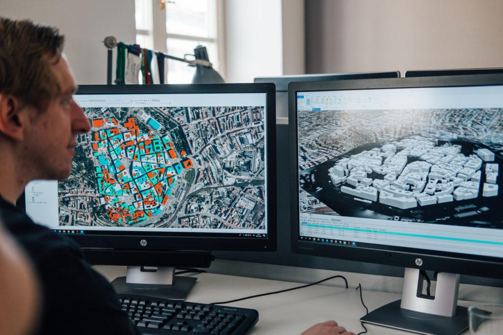Zobrazte si budovy širšího centra Brna v interaktivní mapě