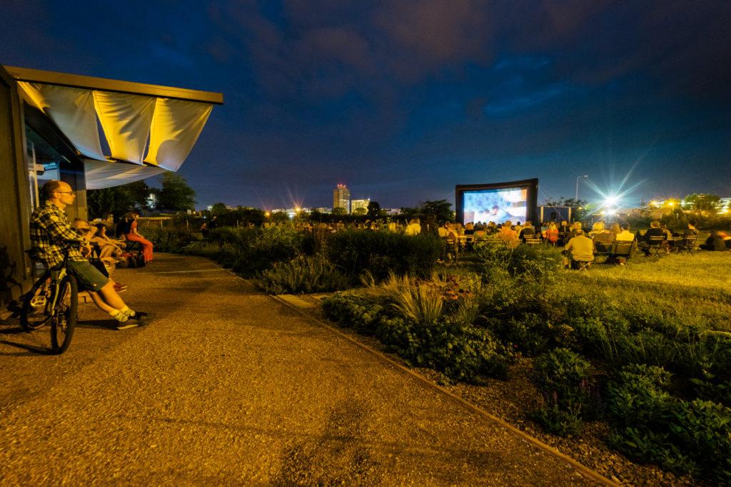 Letní kino v Čekárně