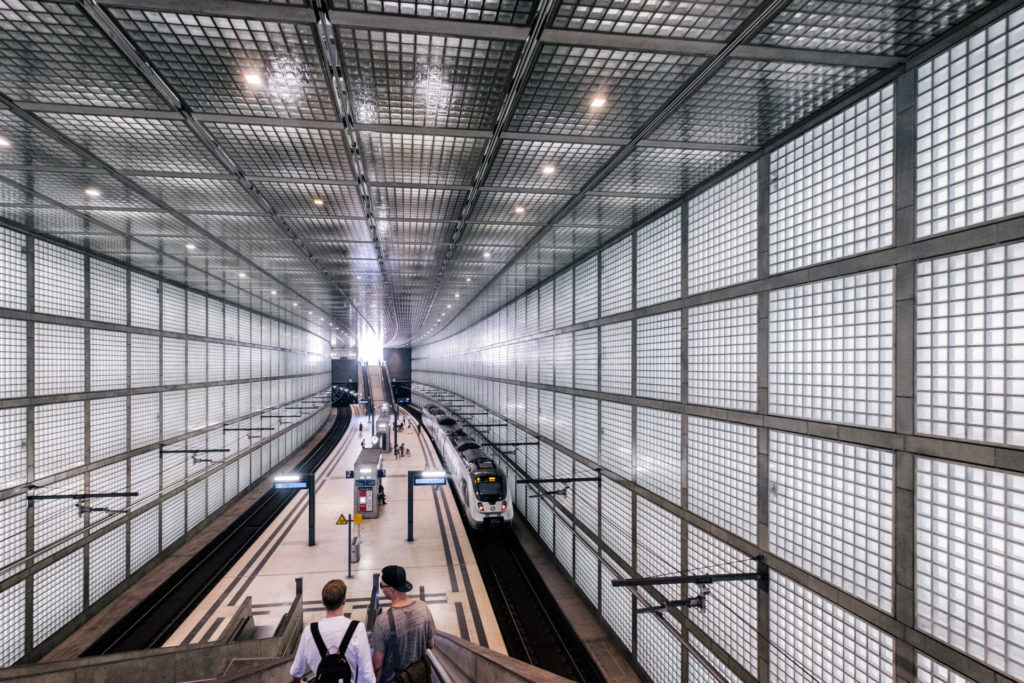 The Leipzig city tunnel