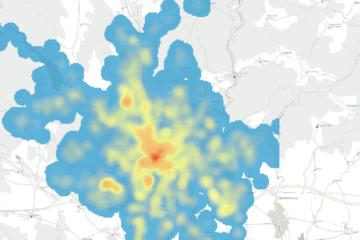 Kde se v Brně nejvíc pracuje? Podívejte se na novou webovou aplikaci