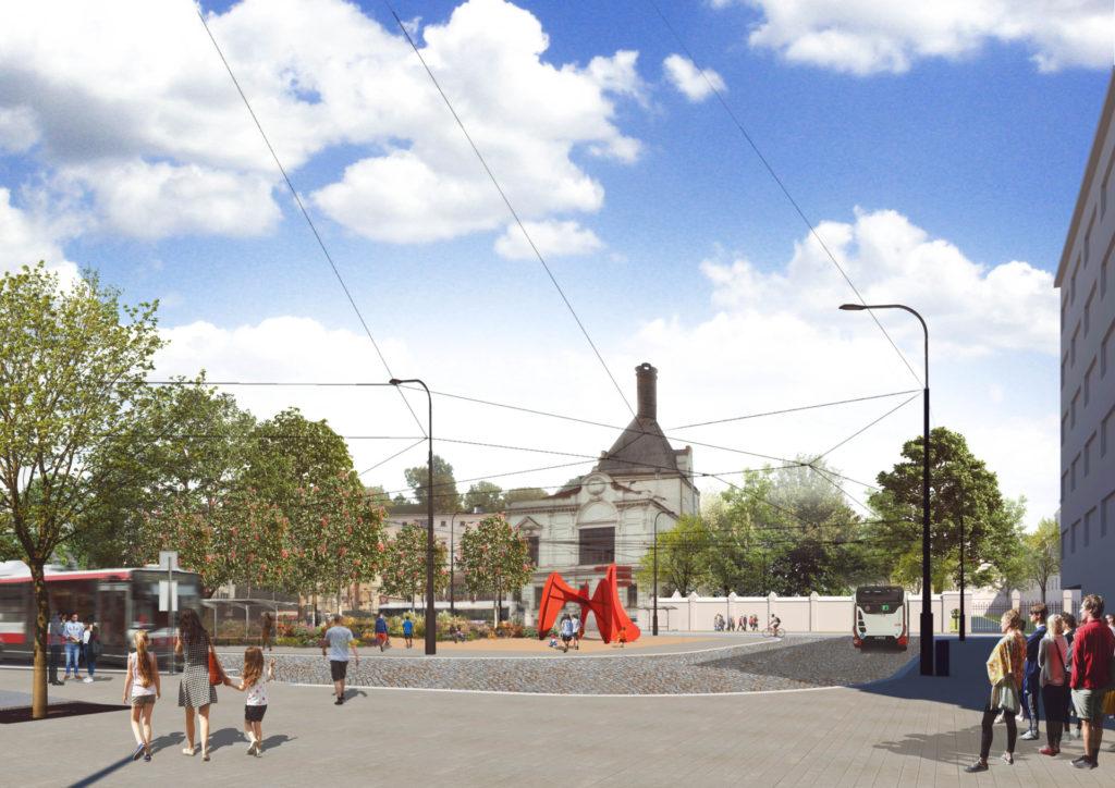 Zlepšujeme Mendlovo náměstí! Přibude zeleň, místo pro pěší i připomínka zakladatele genetiky