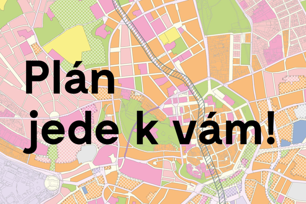 S návrhem nového územního plánu vyrazíme do městských částí, registrujte se už teď