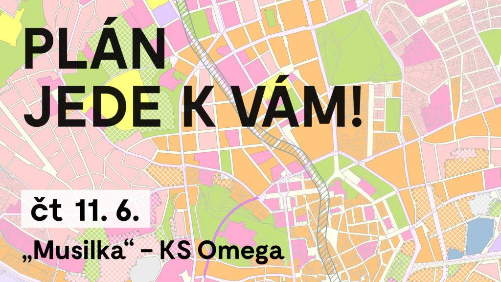 Plán jede k vám! – Kulturní středisko Omega