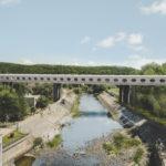 Most z pohledu chodce