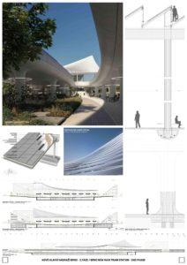 Nové hlavní nádraží Brno - BIG – Bjarke Ingels Group + A8000 s.r.o.
