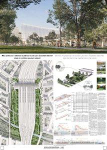 Nové hlavní nádraží Brno - Marc Mimram Architecture & Associés