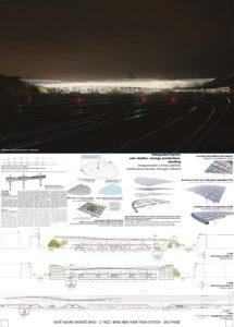 Nové hlavní nádraží Brno - ingenhoven architects GmbH, Architektonická kancelář Burian-Křivinka, architekti Koleček-Jura
