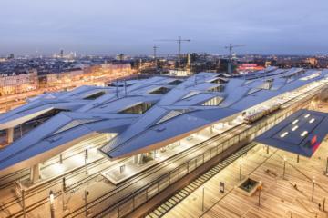 Soutěž na nové hlavní nádražívBrně přilákala světová esa, podívejte se na jejich stavby