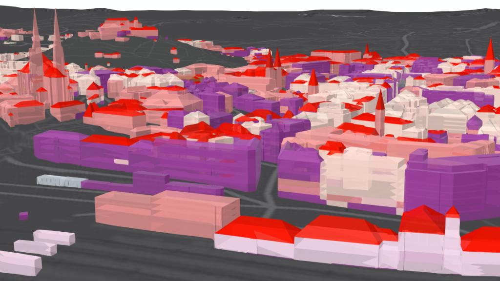 Na procházku virtuálně. Datoví specialisté vytvořili mapu s 3D modely budov