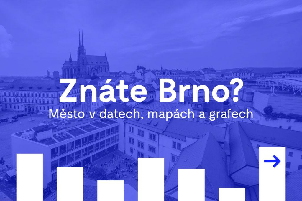 Čerstvá data o Brně. KAM připravila podrobnou analýzu města