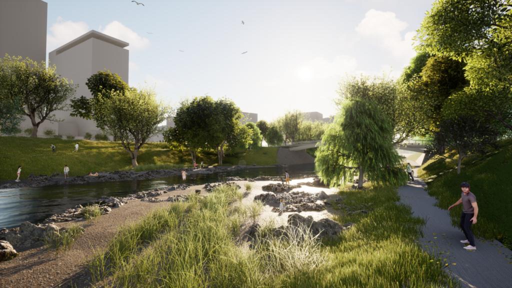 Proměna nábřeží Svratky: Veřejná zakázka na výstavbu protipovodňových opatření je zveřejněna