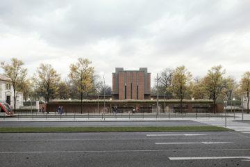 Nechat vyniknout krásu architektury a citlivě doplnit vstup Ústředního hřbitova – známe vítězný návrh od ateliéru Refuel
