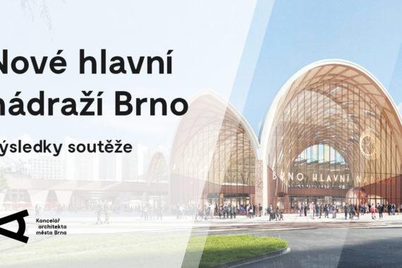 Světová architektura v Brně: Mezinárodní soutěž na nové hlavní nádraží vyhráli nizozemští architekti Benthem Crouwel