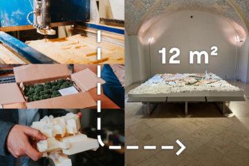 Fotopříběh vzniku modelu: Z plastu a pryskyřice k nové čtvrti Trnitá